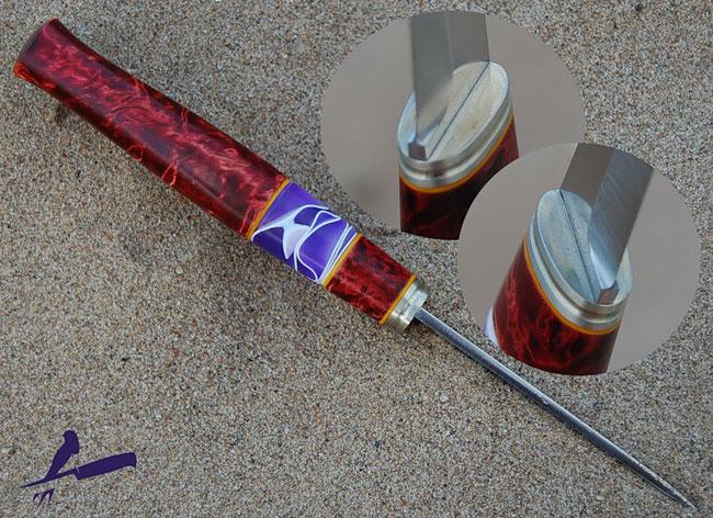 Акриловые рукоятки ножа 131
