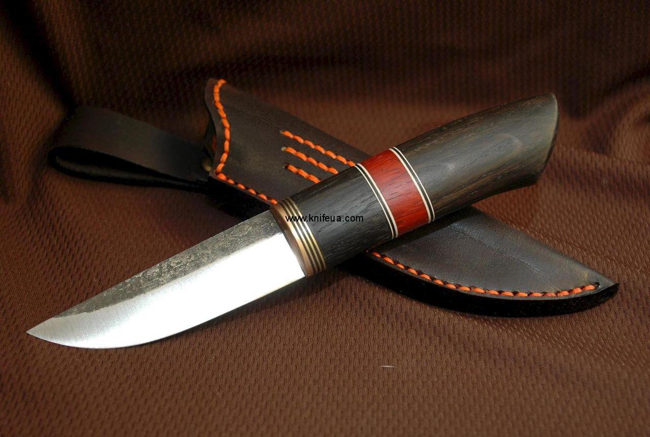 купить нож ручной работы из дамасской стали в москве